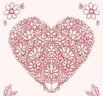 花赤いハート_23-2147522428